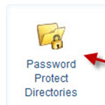How do I password protect a directory?