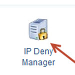 How do I block an IP or domain from accessing my website?