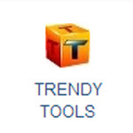 How do I access the trendy tools drag and drop site builder?