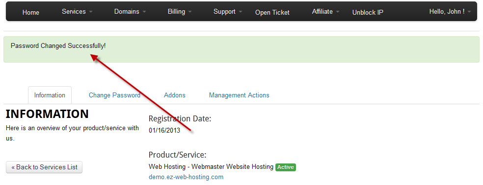 How do I login to my hosting control panel (cPanel)? - Ez Web