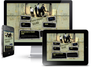 Band Website Builder