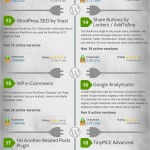 WordPress Most Popular Plugins (Infographic)